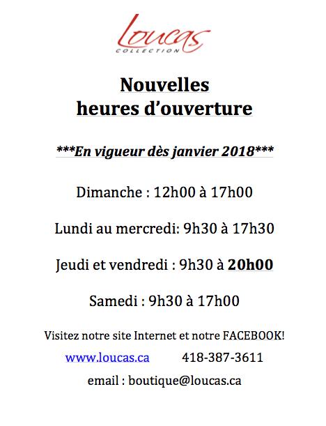 Heures d 39 ouverture janvier 2018 loucas - Lapeyre heure d ouverture ...