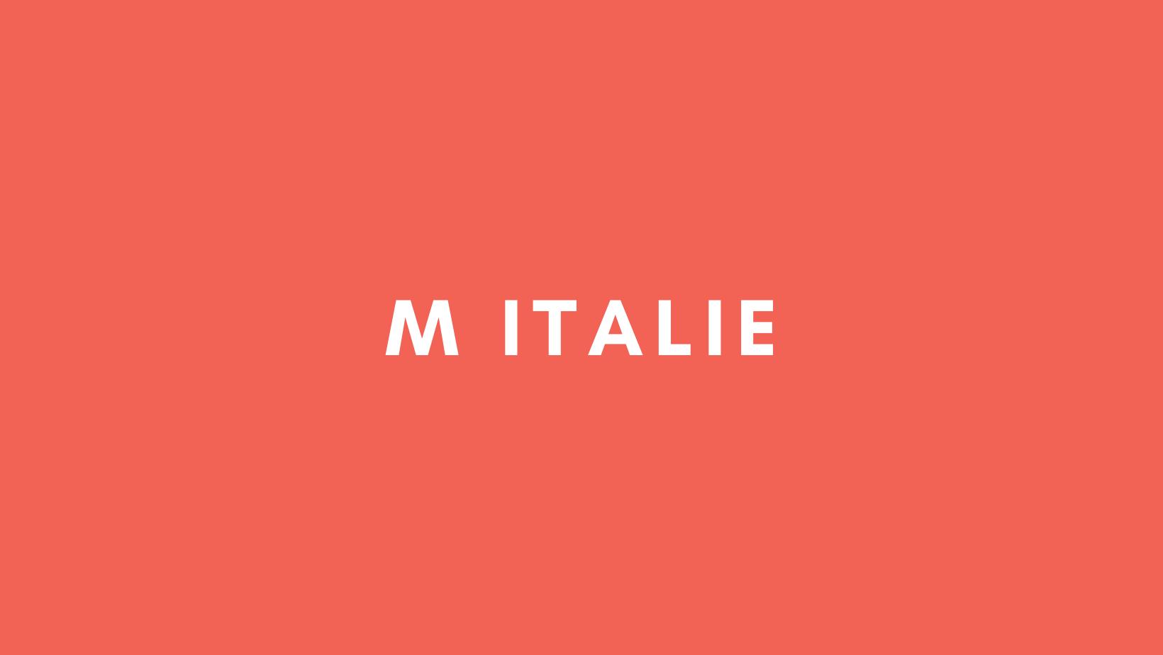 M Italie